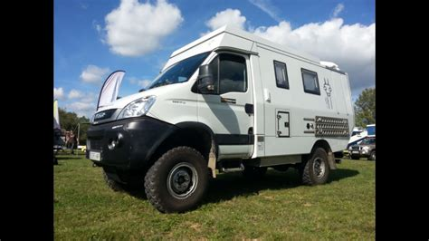 Iveco Daily 4x4 Camper Offroad expedition - YouTube
