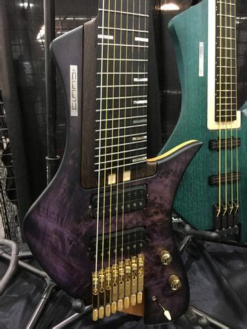 NAMM 2018: Claas Guitars and Basses from Germany   The