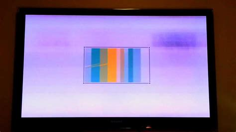 Samsung PS58C7000 hazy picture problem - YouTube