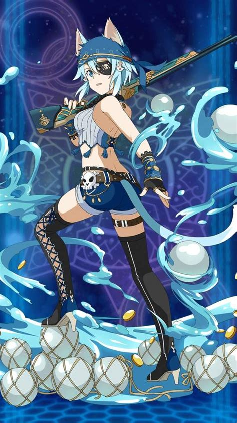 [Great Sniper On The Lookout] Sinon   Wiki   SAO