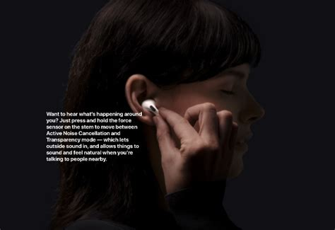 Apple's Fancy AirPods Pro with H1 Chip and Active Noise