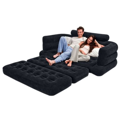 Intex Inflatable Full Size Pull-Out Sofa Cum Bed – Model