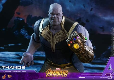 Avengers: Infinity War - Thanos Figure by Hot Toys - The