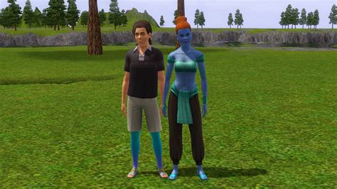 Mod The Sims - Supernatural Overlays : Genies and Mermaids
