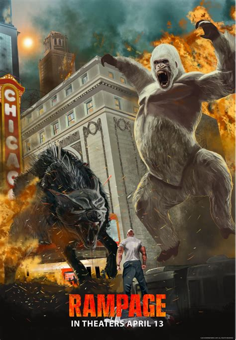 Rampage Movie – New Posters : Teaser Trailer
