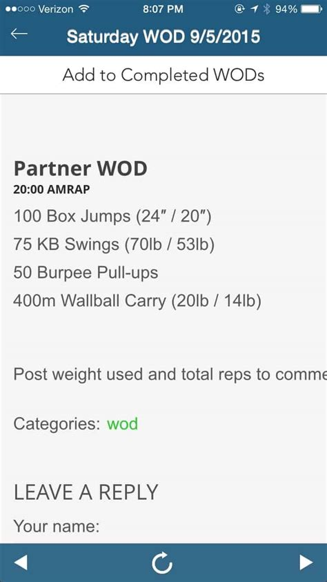 Making the Gains - 20 minute Partner WOD - Eat the Gains