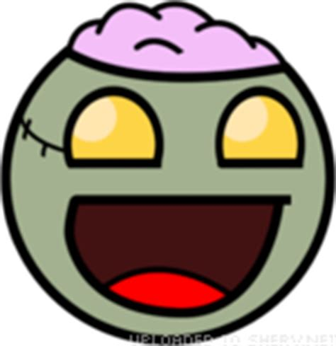 Zombie text emoticon   Free text and ASCII emoticons
