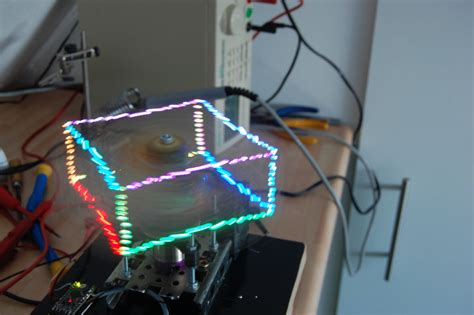 Arduino Blog » PropHelix is an amazing 3D POV holographic