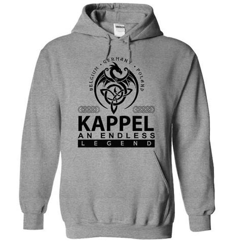 KAPPEL an endless legend - #birthday gift #college gift