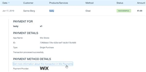 Accessing the Wix Payments Dashboard After Disconnecting