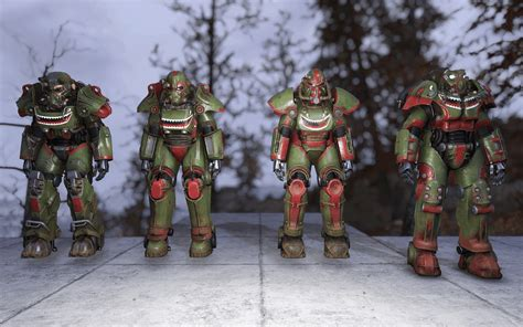 CPPR - Classic Power Armor Paintjob Replacer - Fallout 76