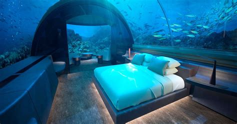 Dive in: these are the world's incredible underwater hotel