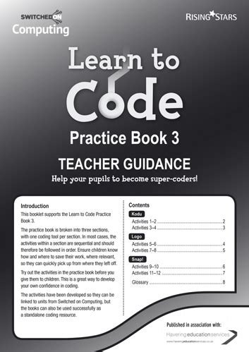 LEARN TO CODE PRACTICE BOOK 1   Macmillan South Africa