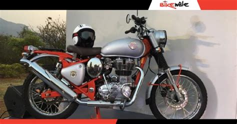 Royal Enfield Bullet 350 Trials discontinued in India