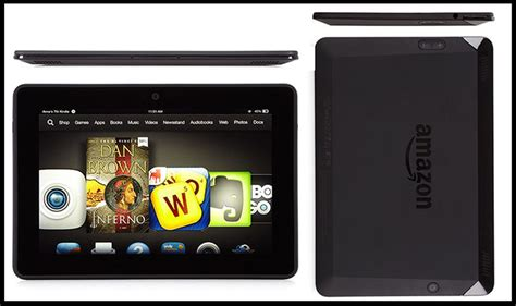 Several Amazon Kindle Fire Tablets Receive New Firmware