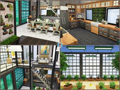 Akisima Sims Blog: Rags to Riches House • Sims 4 Downloads