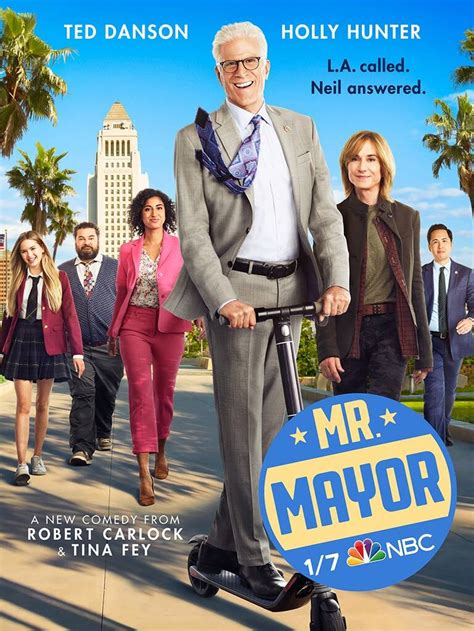 Ted Danson Takes Office in New Poster For NBC's Mr