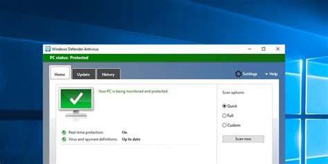 How to Get the Old Windows Defender in Windows 10 Back