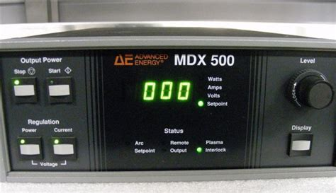 AE Advanced Energy MDX 500 MDX500 Sputtering Power Supply