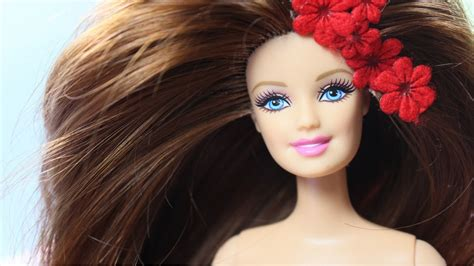 How to Reroot Natural Hair For Doll - Putting My Natural